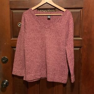 Motherhood Pink Maternity Sweater Women's Size M